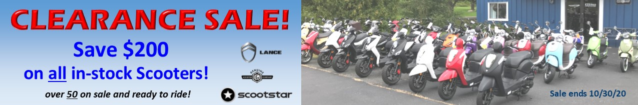 Clearance Sale $200 off 9-20